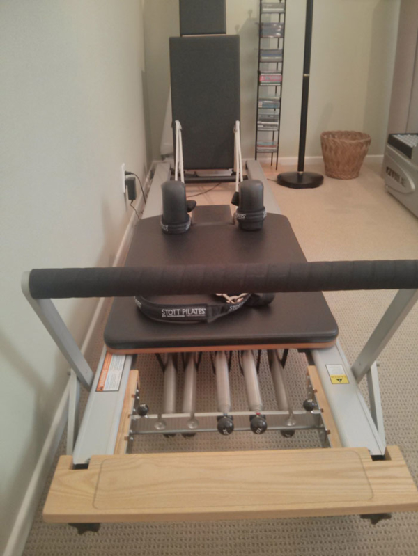 STOTT PILATES At Home SPX Reformer Bundle USED