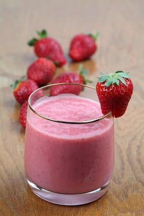 Strawberry protein shake recipes