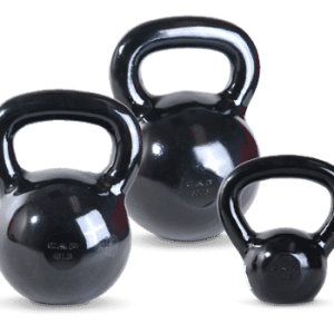 CAP Black Polished Kettlebells