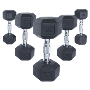 CAP Coated Dumbbells w/ Ergonomic Handles