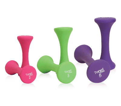 CAP Hourglass Dumbbells