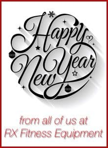 Happy New Year from RX Fitness Equipment