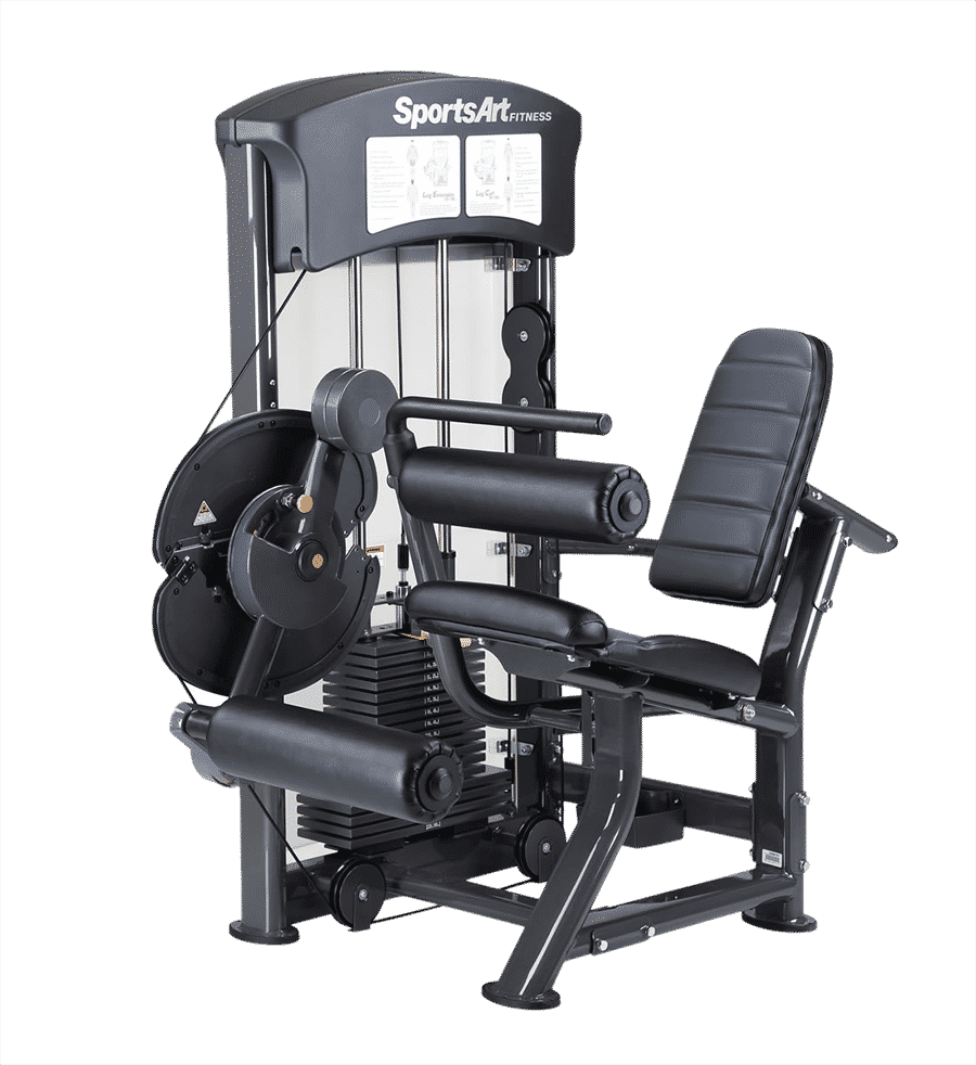SportsArt DF100 Leg Extension and Curl