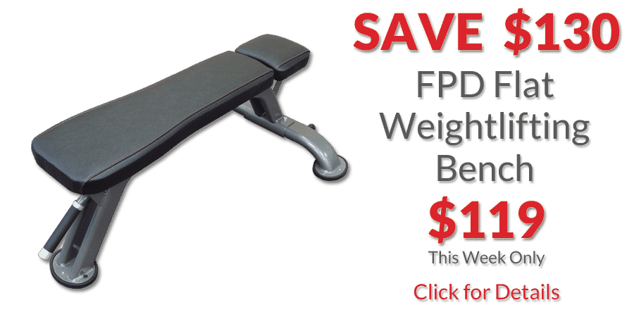 fpd flat bench deal of the week