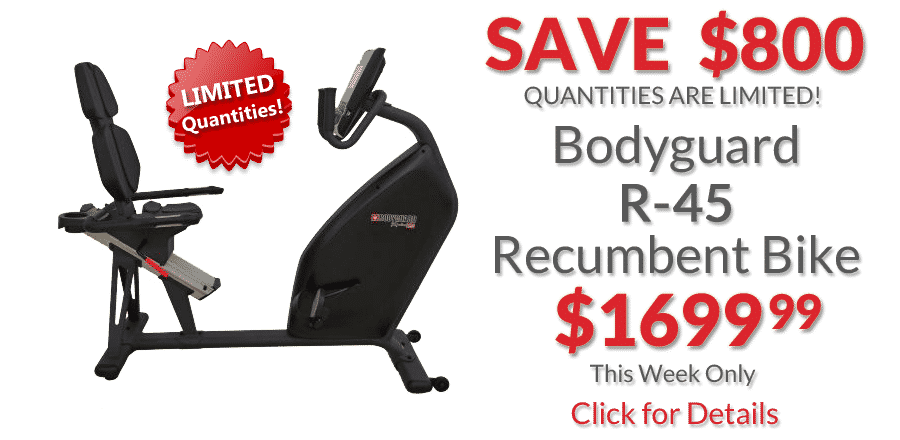 Bodyguard R-45 Recumbent Bike • Deal of the Week