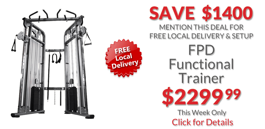 FPD Functional Trainer Deal of the Week