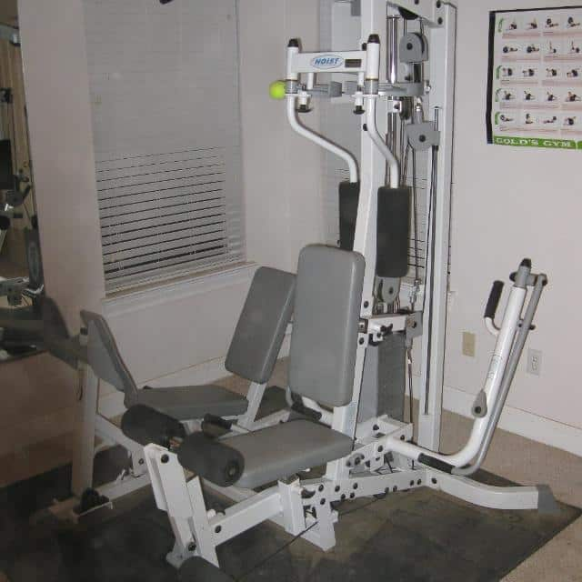 Hoist Gym Equipment Weight: Hoist 310 Home Gym With Leg Press USED