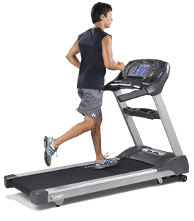running HIIT routine for treadmill