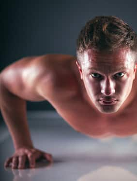 Increase endurance with pushups