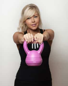 kettlebell workout for moms