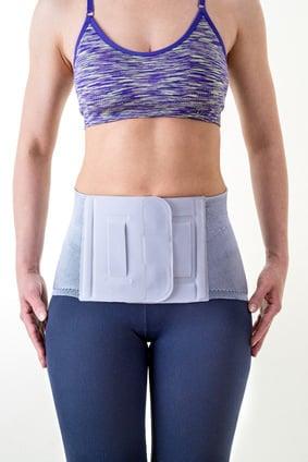 Back brace for lower back pain