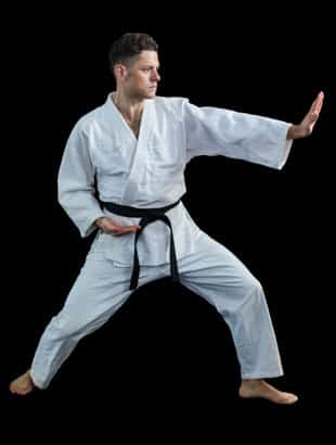 Practicing martial arts for fitness