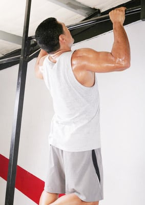gain weight with pullups