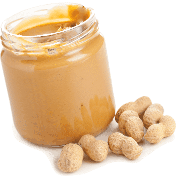 Peanut butter is a great energy snack.