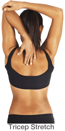 stretching exercises bicep stretch