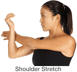 stretching exercises shoulder stretch