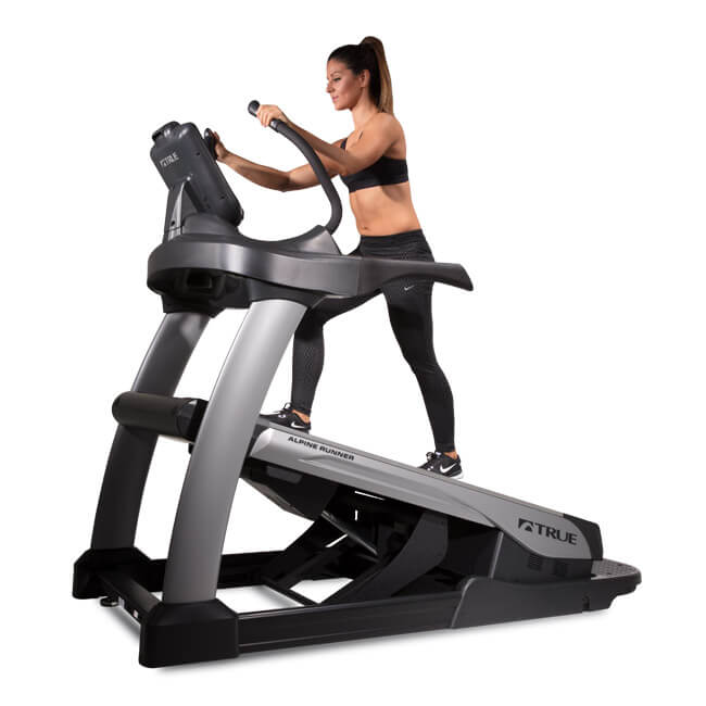 True Traverse Elliptical: TRUE Alpine Runner Incline Trainer