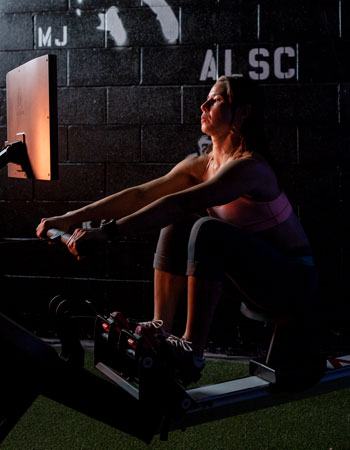 Aviron impact series rower woman