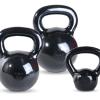 Black Polished Kettlebells