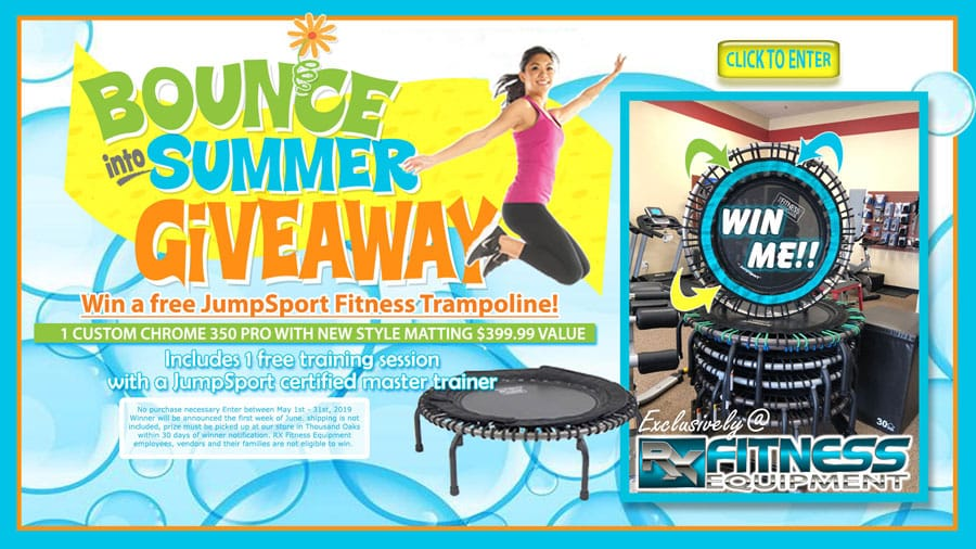 Bounce in to Summer giveaway