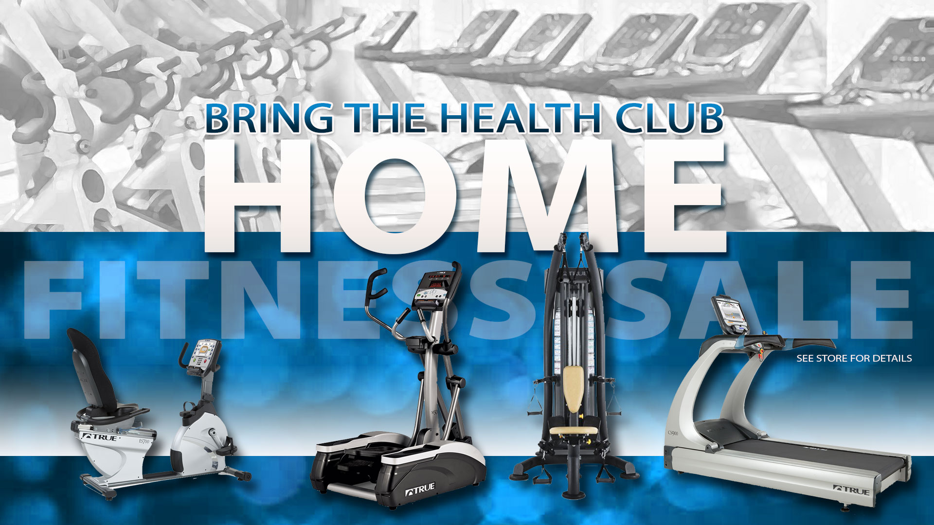 a Bring the Health Club Home Fitness Sale