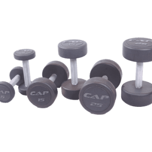 CAP Rubber Encased Dumbbells