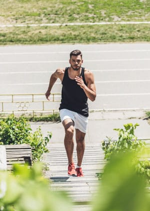 HIIT exercises for beginners man