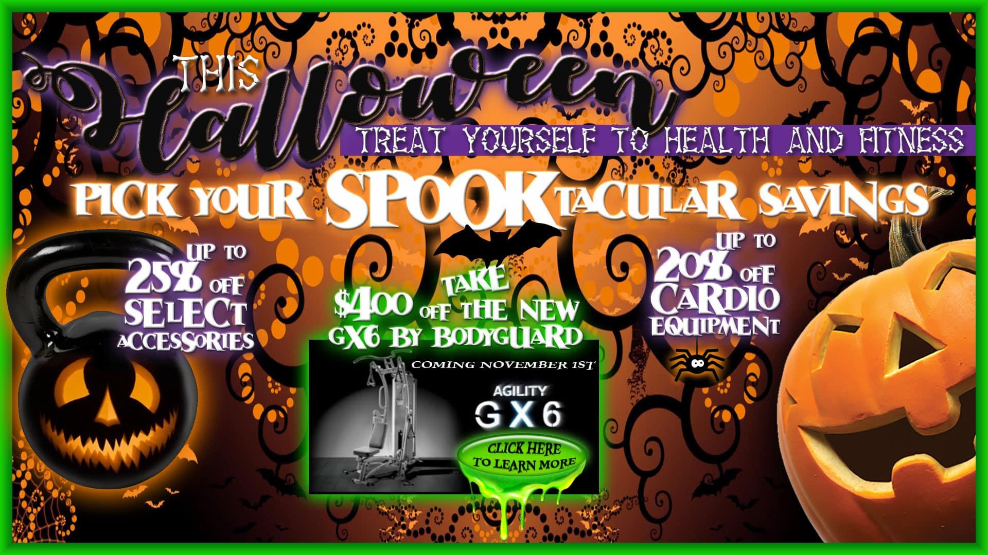 A Spooktacular Halloween Savings Event