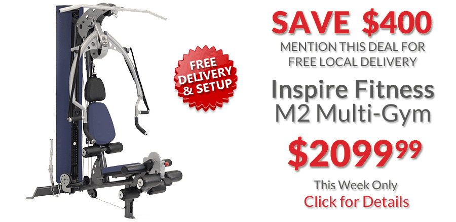 Inspire Fitness M2 Multi-Gym Deal of the Week