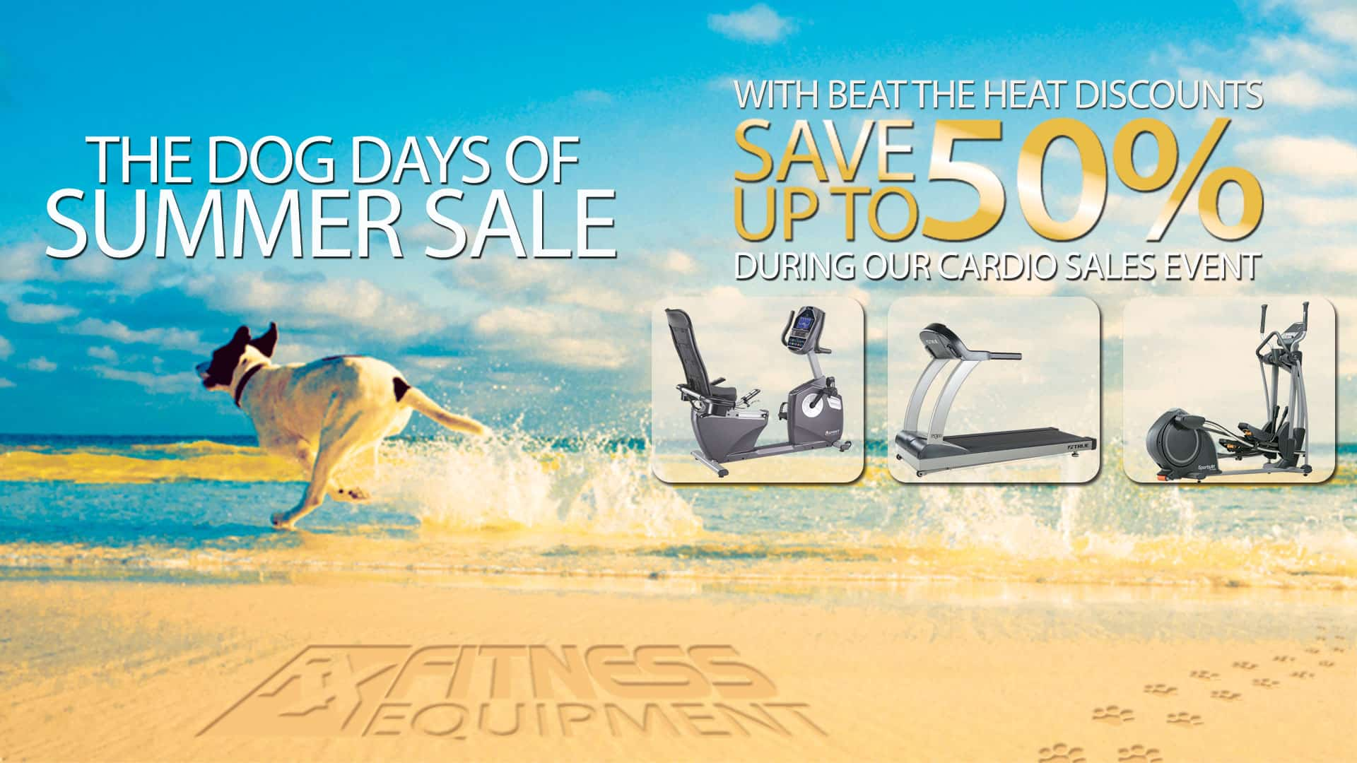A The Dog Days of Summer Sale