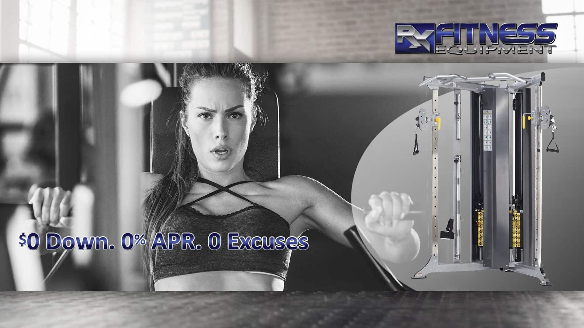 AB Zero Excuses Functional Trainer