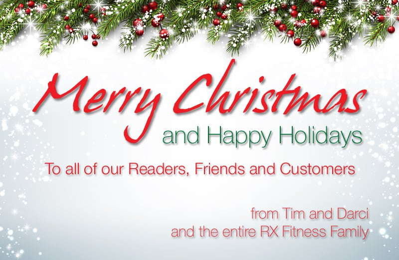Merry Christmas from RX Fitness Equipment