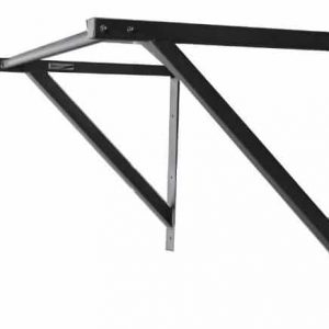 RX Wall/Ceiling Mounted Pull Up Bar with 300-Pound Capacity