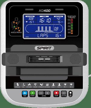 Spirit eGlide XG400 console