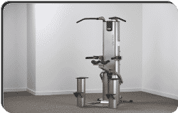 The Vectra VX - DC Assisted Dip and Chin-up Machine