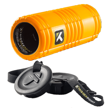TriggerPoint Grid Foam Roller with Caps and Strap