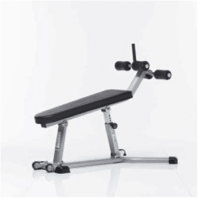 TuffStuff CAB-335 Adjustable Abdominal Bench