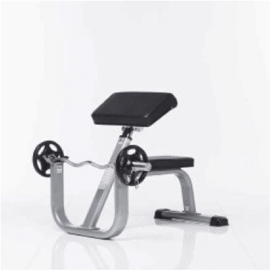 TuffStuff CAC-365 Arm Curl Bench – Evolution Series