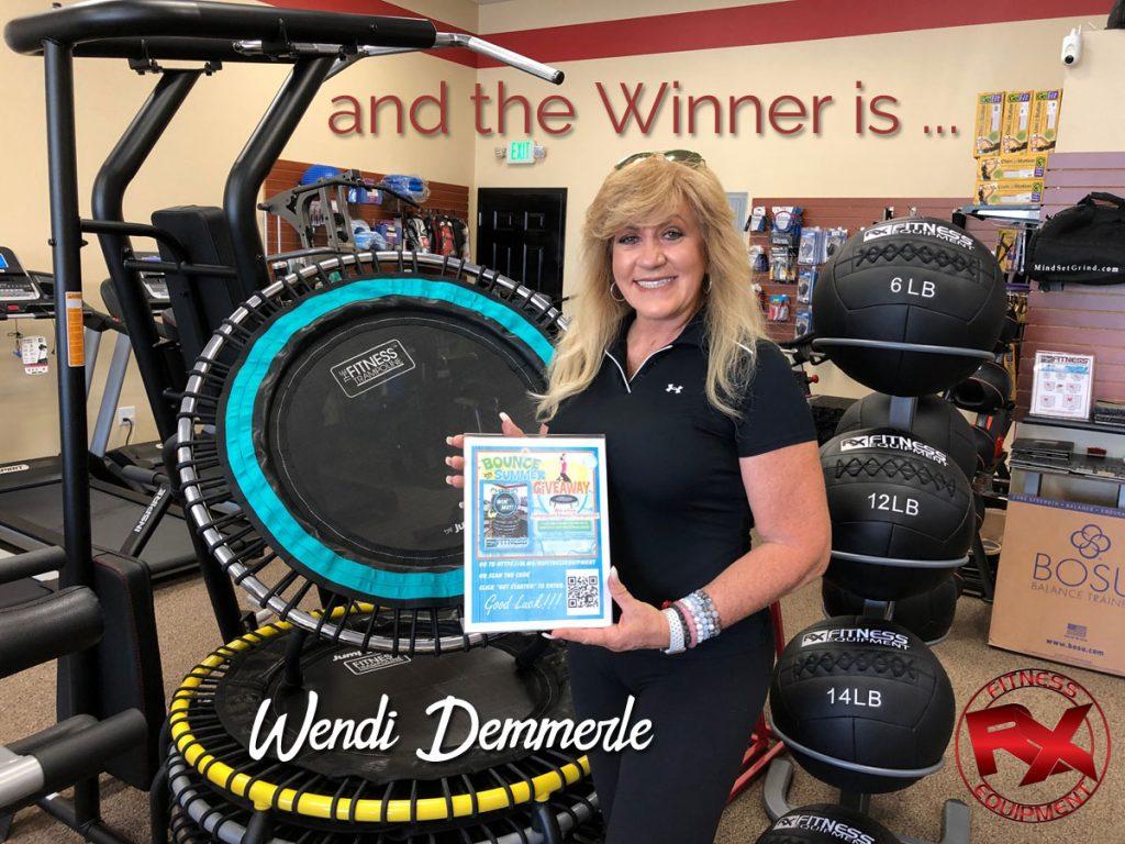Winner Wendi Demmerle