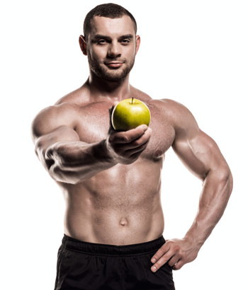 appetite suppressants man with apple