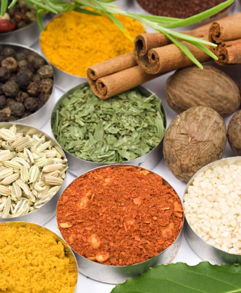 clean eating 5 spices fresh