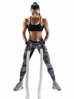 crossfit exercise woman