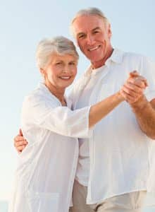 Couple dancing for fitness featured