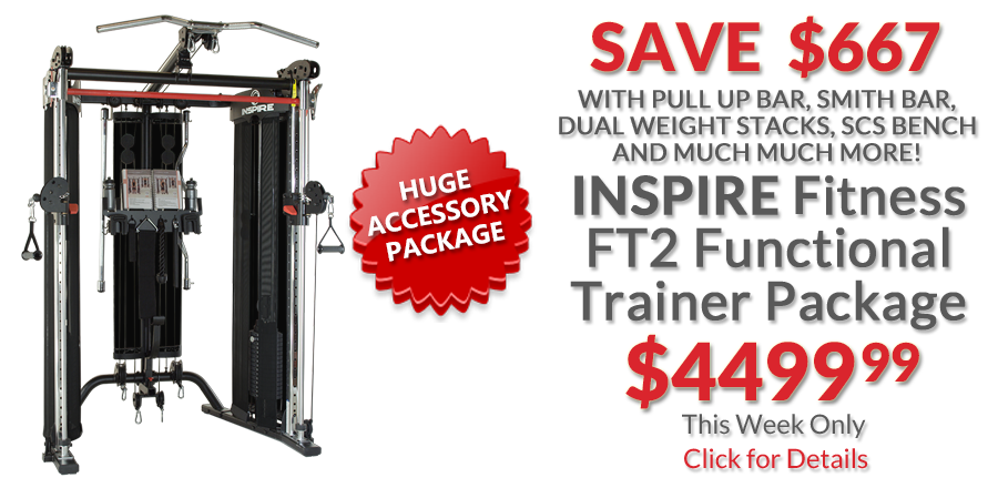deal Inspire Fitness FT2 Functional Trainer