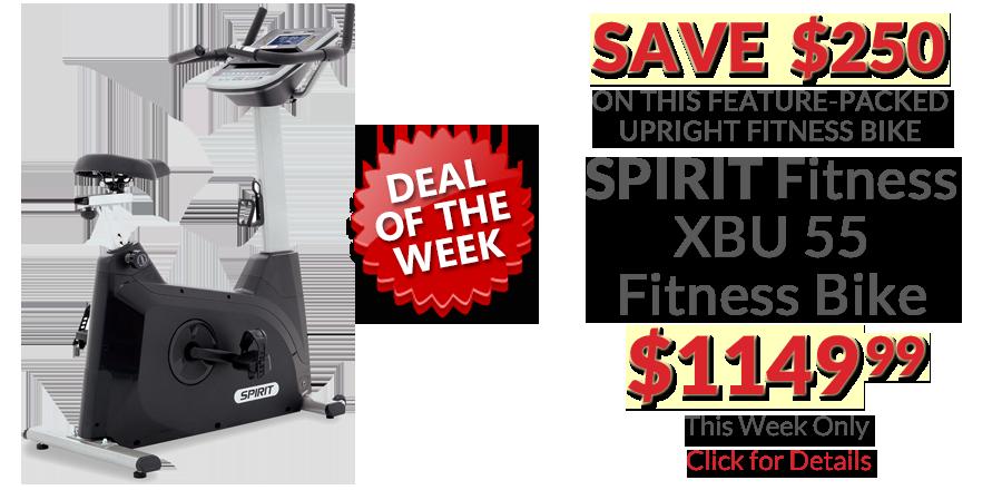 deal Spirit XBU55 Fitness Bike