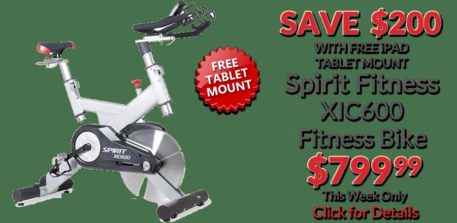 Spirit XIC600 Fitness Bike Deal of the Week