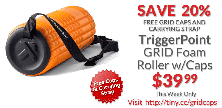 deal TriggerPoint Grid Foam Roller Caps Strap