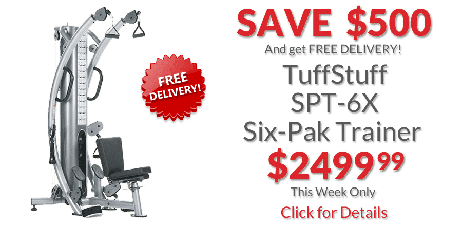 TuffStuff Six-Pack Trainer deal