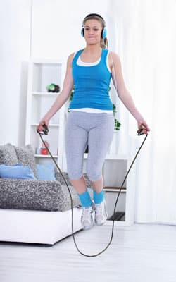 Exercising on the cheap