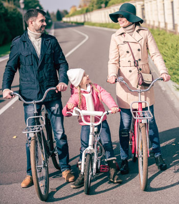 family fitness bicycles